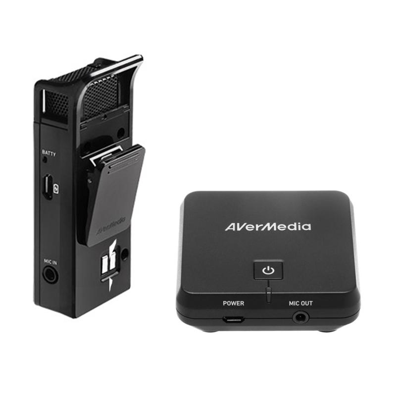 AverMedia AW313 Wireless Microphone & Receiver