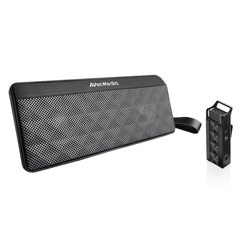 AVerMedia Wireless Microphone and Speaker