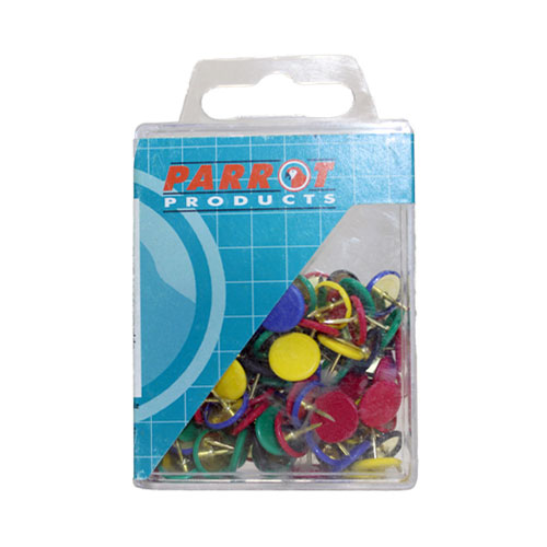 Drawing Pins (Boxed Pack 100, Assorted)