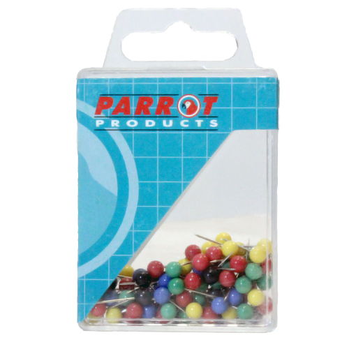Map Pins (Boxed 100, Assorted)