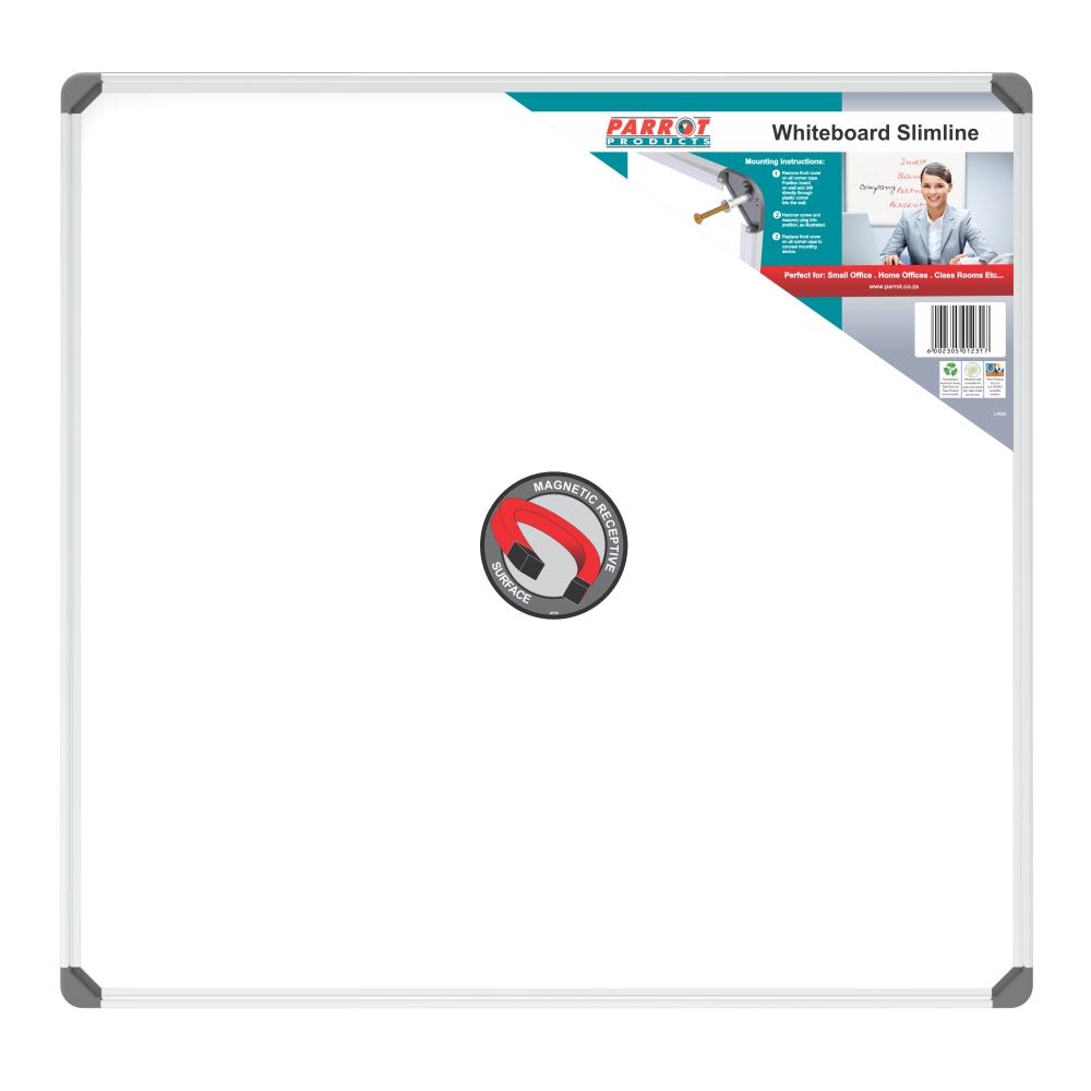 Slimline Magnetic Whiteboard (900*900mm)