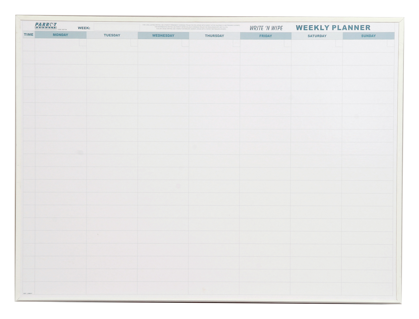 Weekly Planner (Write 'n Wipe 800*600)