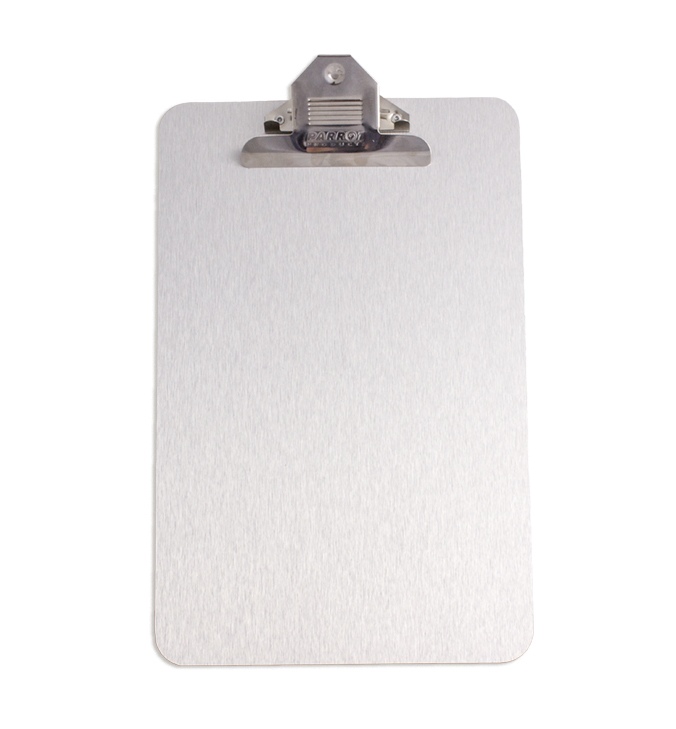 Clipboard Brushed Aluminium ACP (A4, 355*230mm)