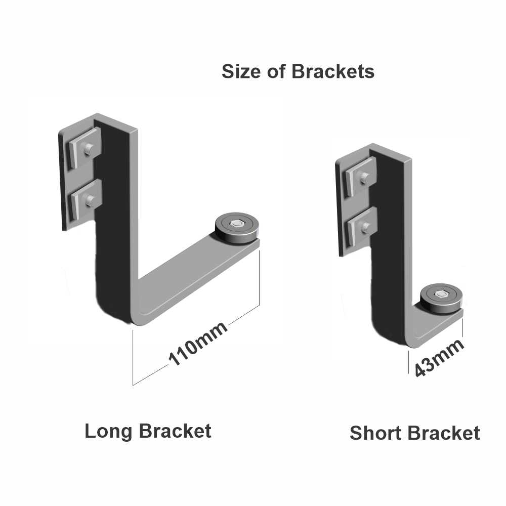 Easy Rail Mounting Bracket Set Long