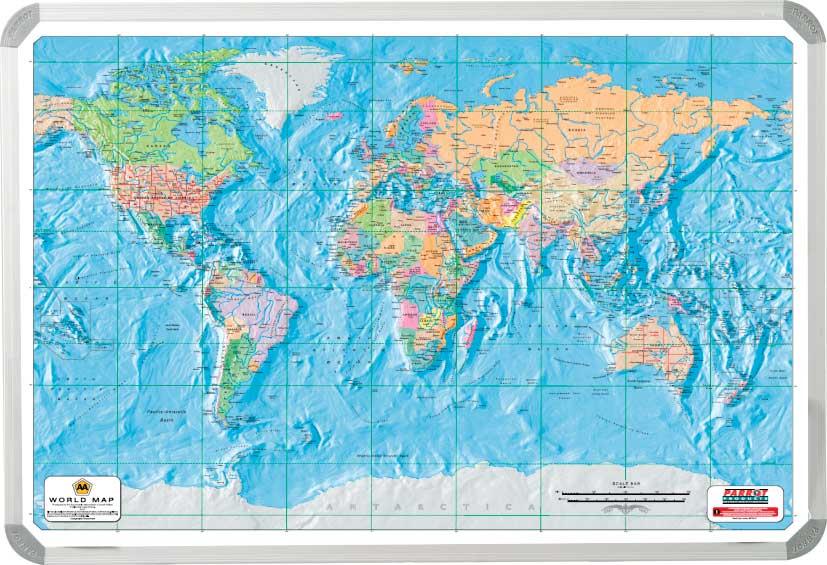World AA Map (1200*900mm)