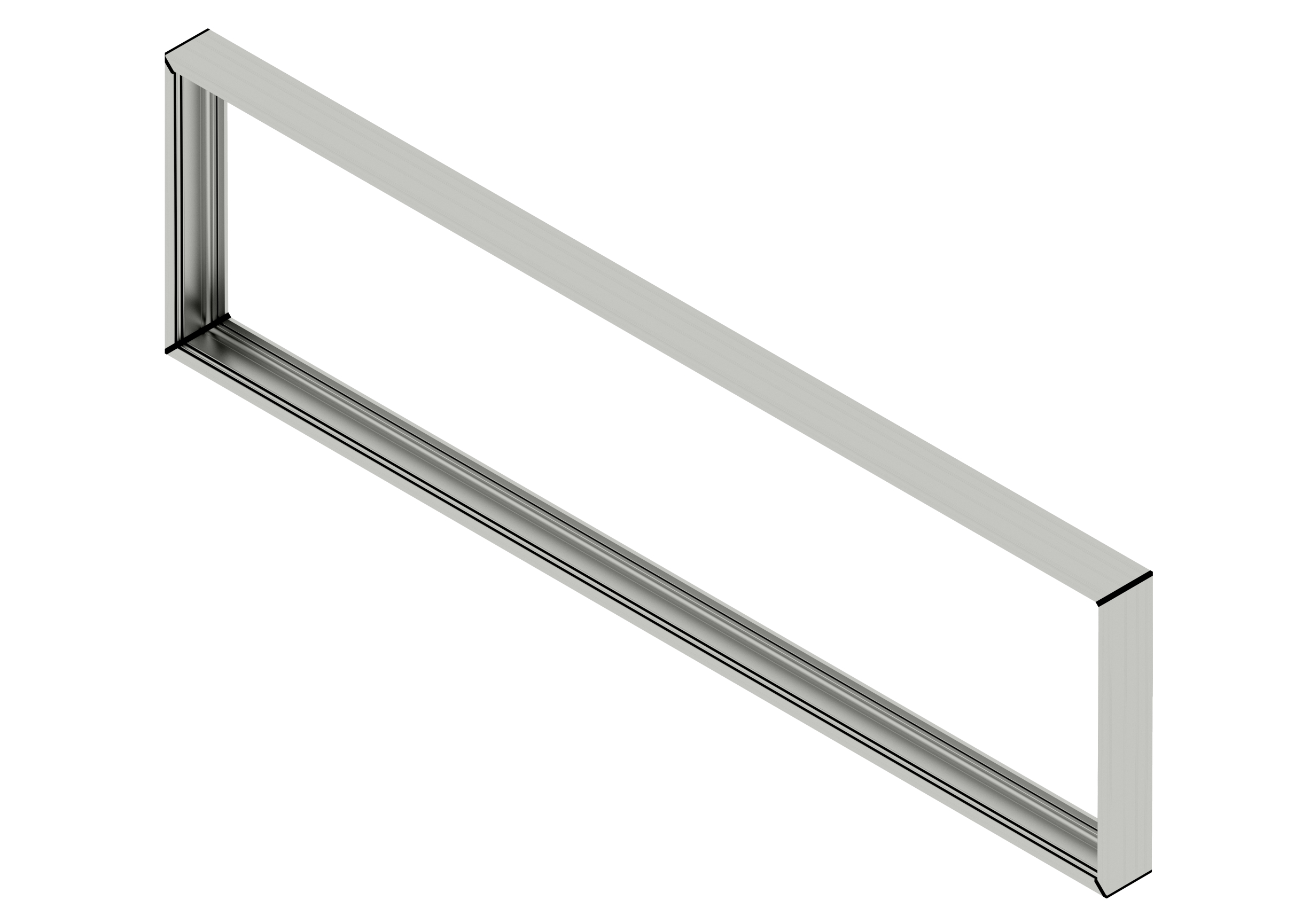 Roller Rail Track System 1200 (H) x 3600 (W) - Track Only