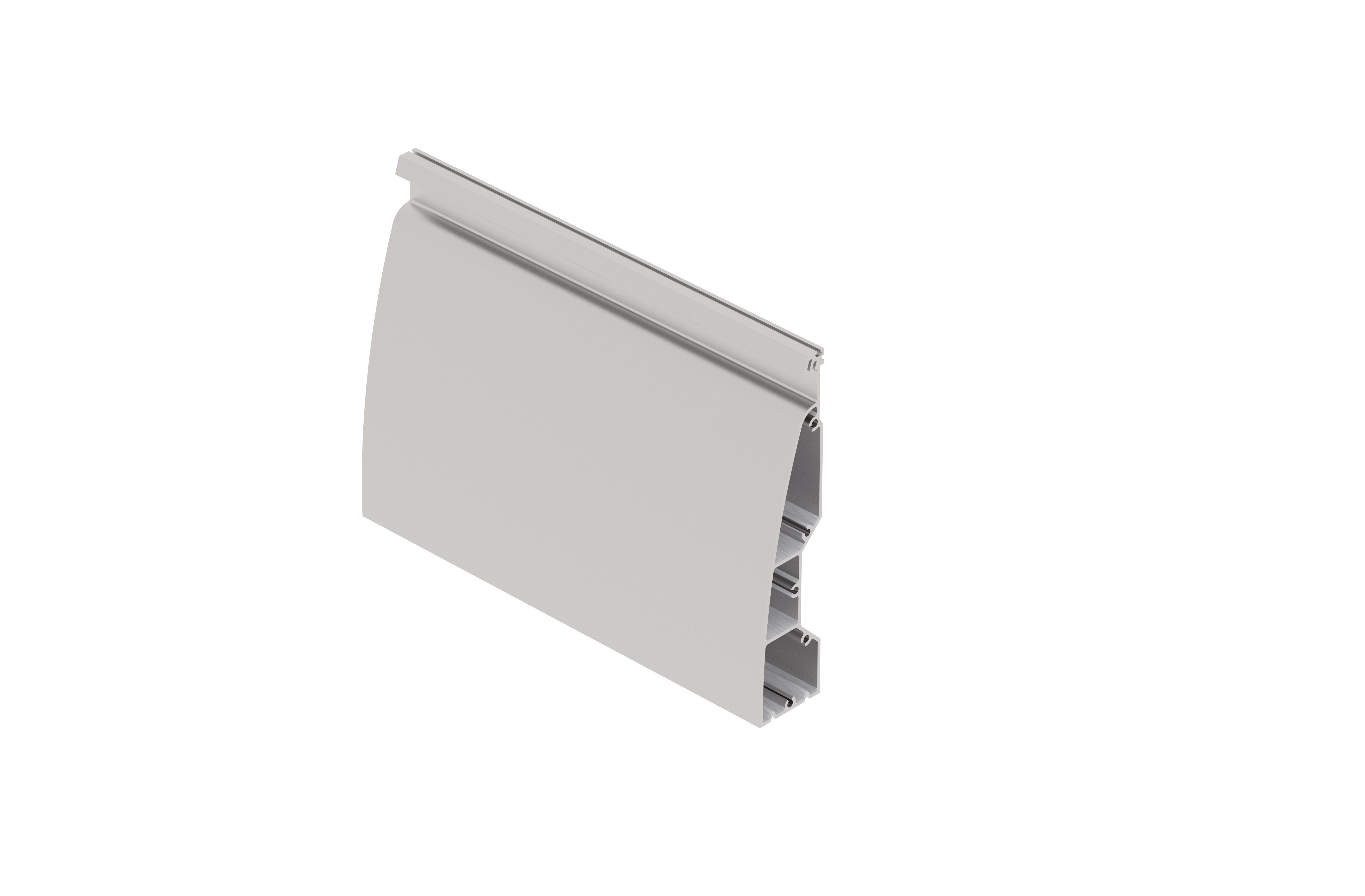 Sign Frame Aluminium Extrusion End (150 x 3600mm)
