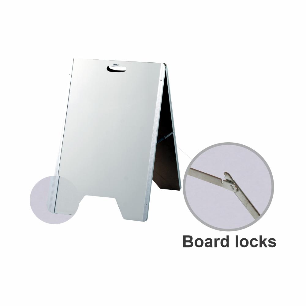 A-Frame Whiteboard (Aluminium Frame 900*600mm)