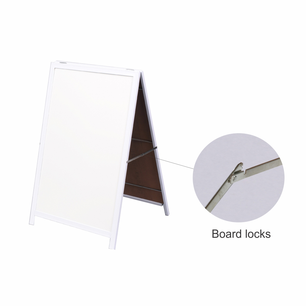 A-Frame Whiteboard (Non Mag Steel Frame 900*600mm)