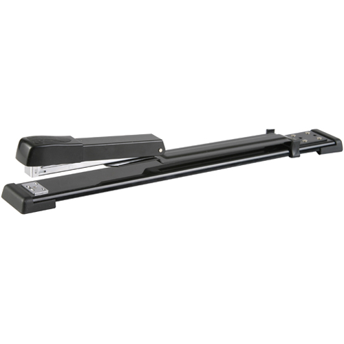 Long Reach Stapler 210*(24/6 26/6) Black 20 Pages