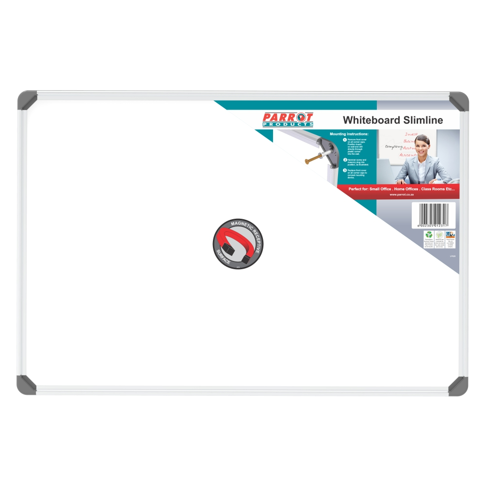 Slimline Magnetic Whiteboard (600*450mm)