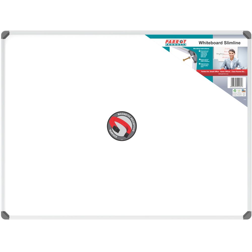 Slimline Magnetic Whiteboard (1200*900mm)