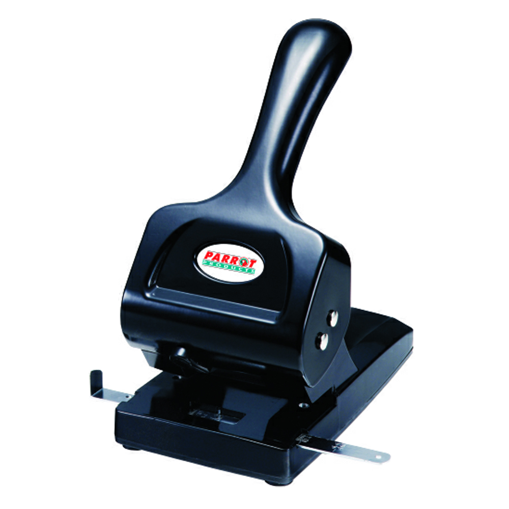 Steel Hole Punch (65 Sheets, Black)