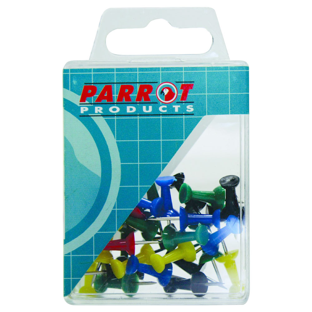 Push Pins (Boxed Pack, 30 Assorted)
