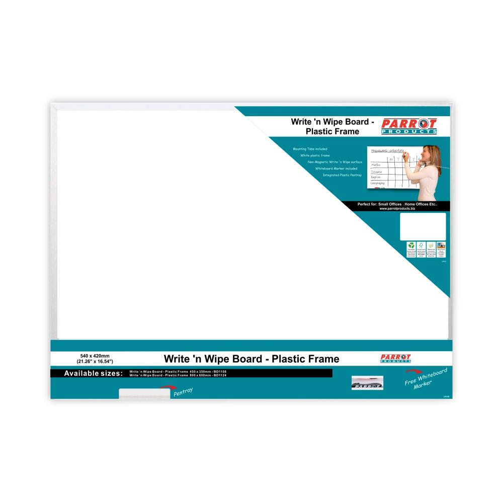 Write 'n Wipe (Plastic Frame, 540*420mm)