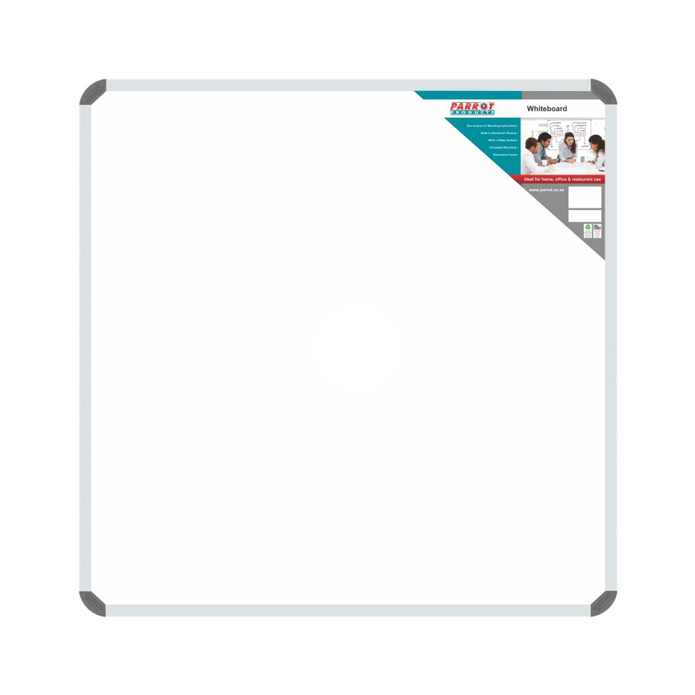 Non-Magnetic Whiteboard (900*900mm)