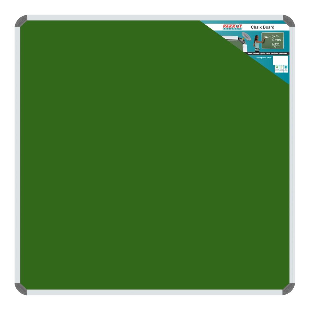 Chalk Board Non-Magnetic (Aluminium Frame - 900*900mm)