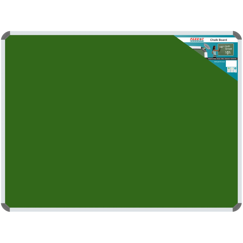 Chalk Board Non-Magnetic (Aluminium Frame - 1800*900mm)