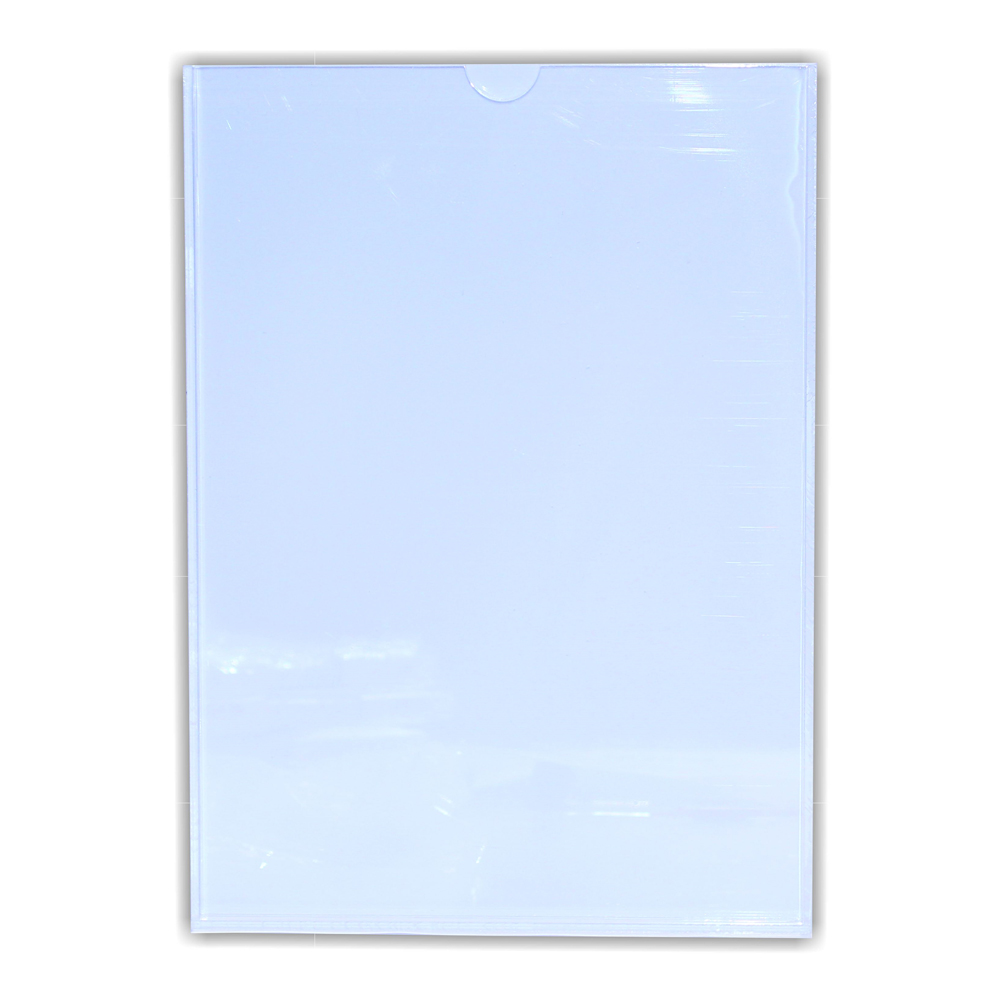 Perspex Pocket (Clear/White Backing A3)