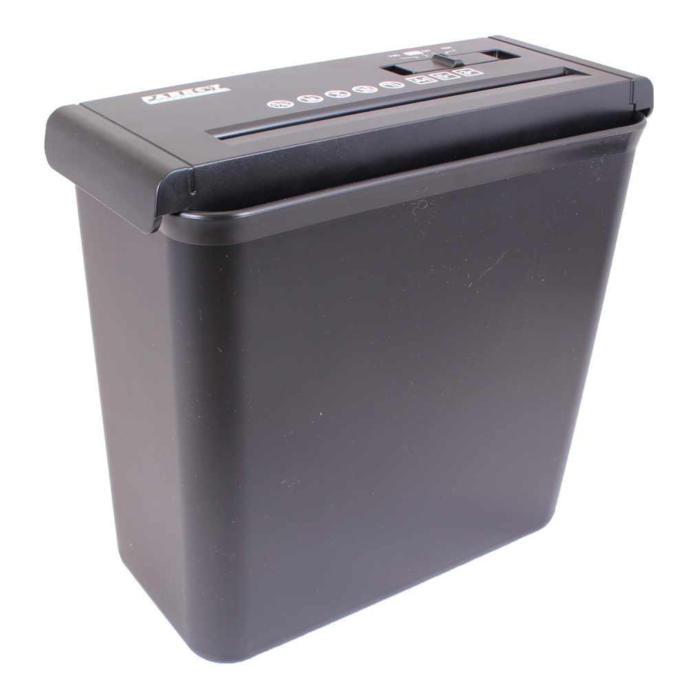 Paper Shredder (5 Sheet, 6.8mm, Strip Cut - Low Security)