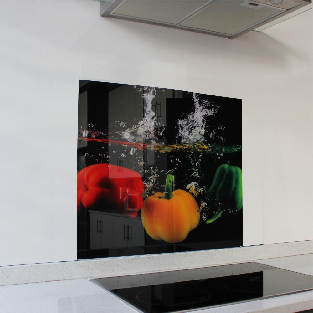 Peppers Hob Splashback 598 x 650 x 4mm