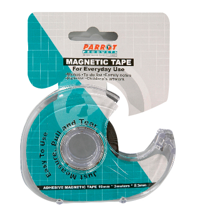 Magnetic Flexible Tape S/Adhesive (3m*19mm*0.3mm)