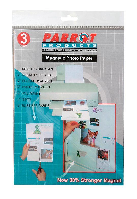 Magnetic Flexible Photo Paper A4 (3 Sheets)