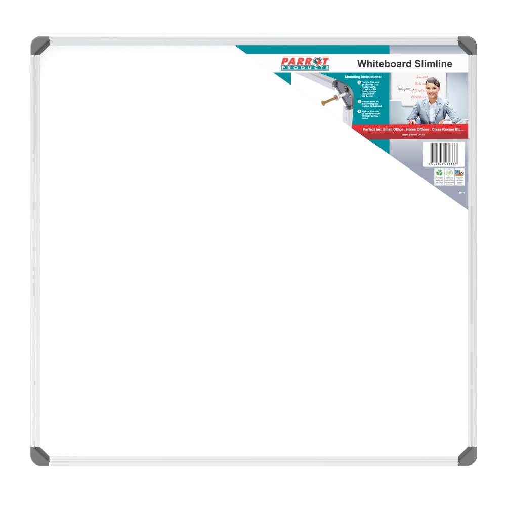 Slimline Non-Magnetic Whiteboard (900*900mm)