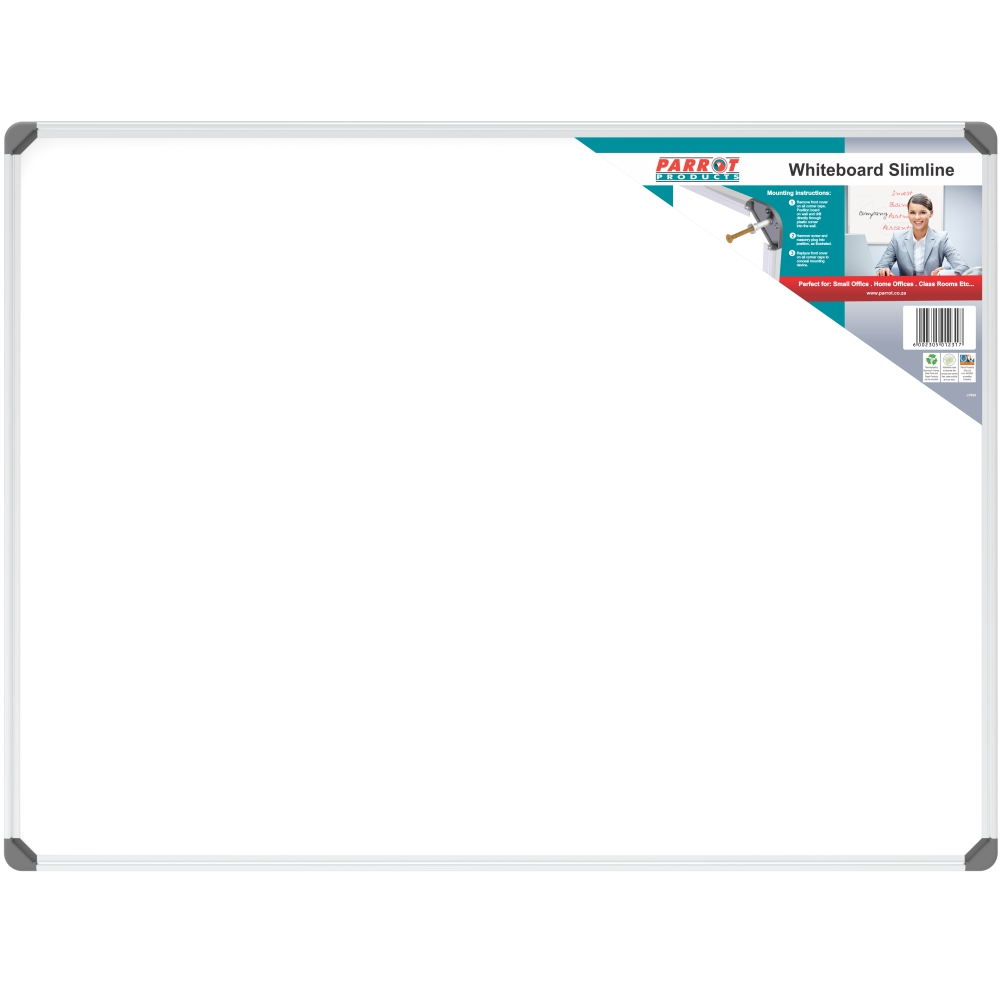Slimline Non-Magnetic Whiteboard (1200*900mm)