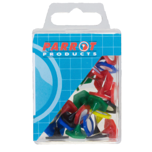 Hexagonal Pins (Boxed 30 - Assorted)