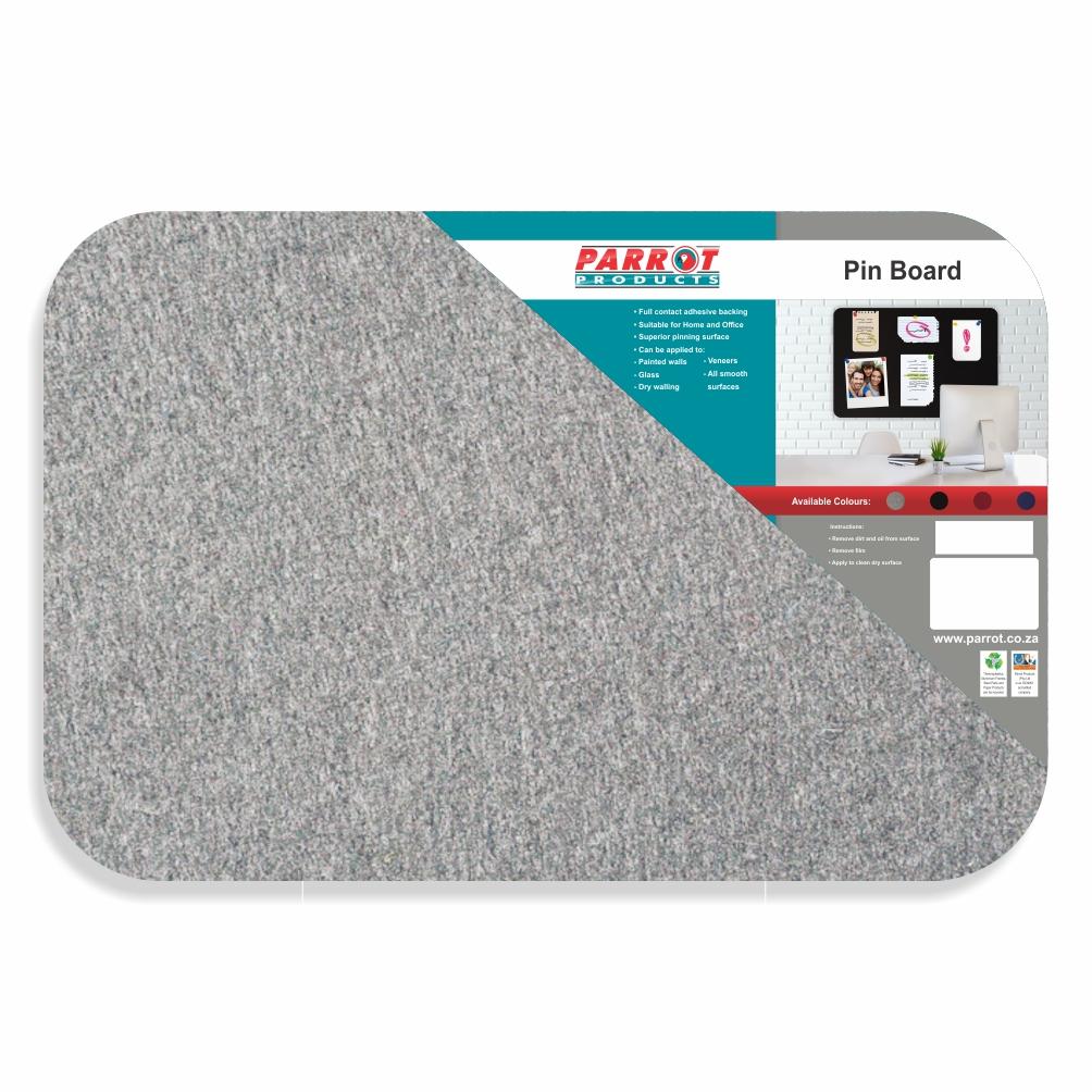 Adhesive Pin Board (No Frame - 450*300mm - Grey)