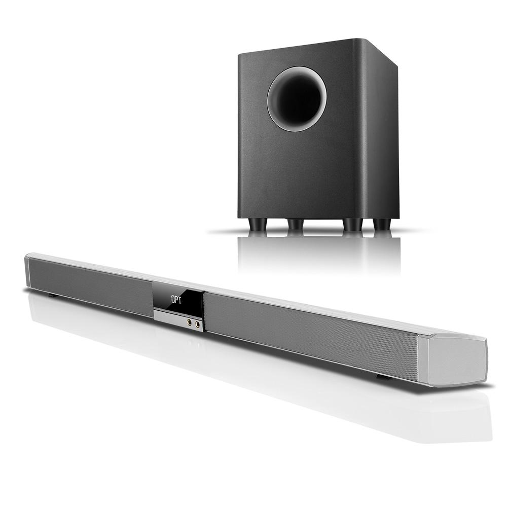 Sound Bar Speaker + Wireless Bluetooth Subwoofer