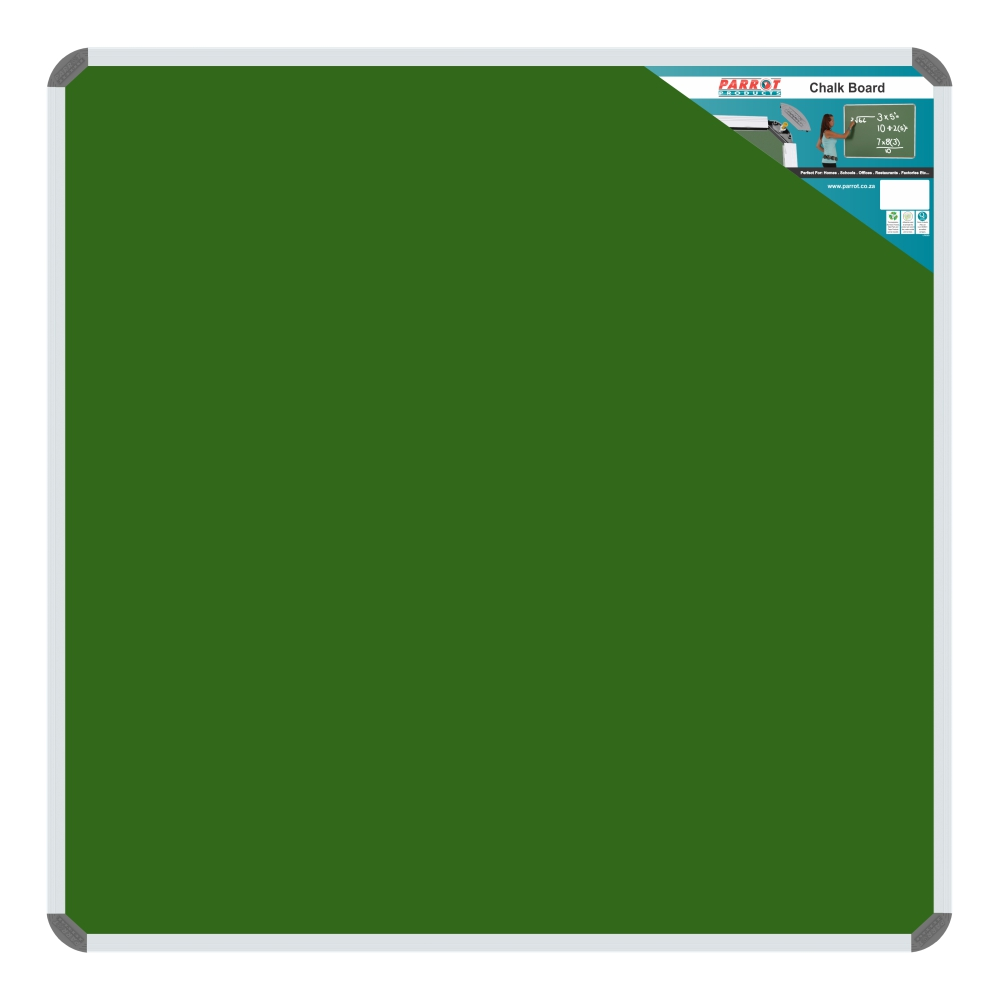 Chalk Board Non-Magnetic (Aluminium Frame - 1200*1200mm)