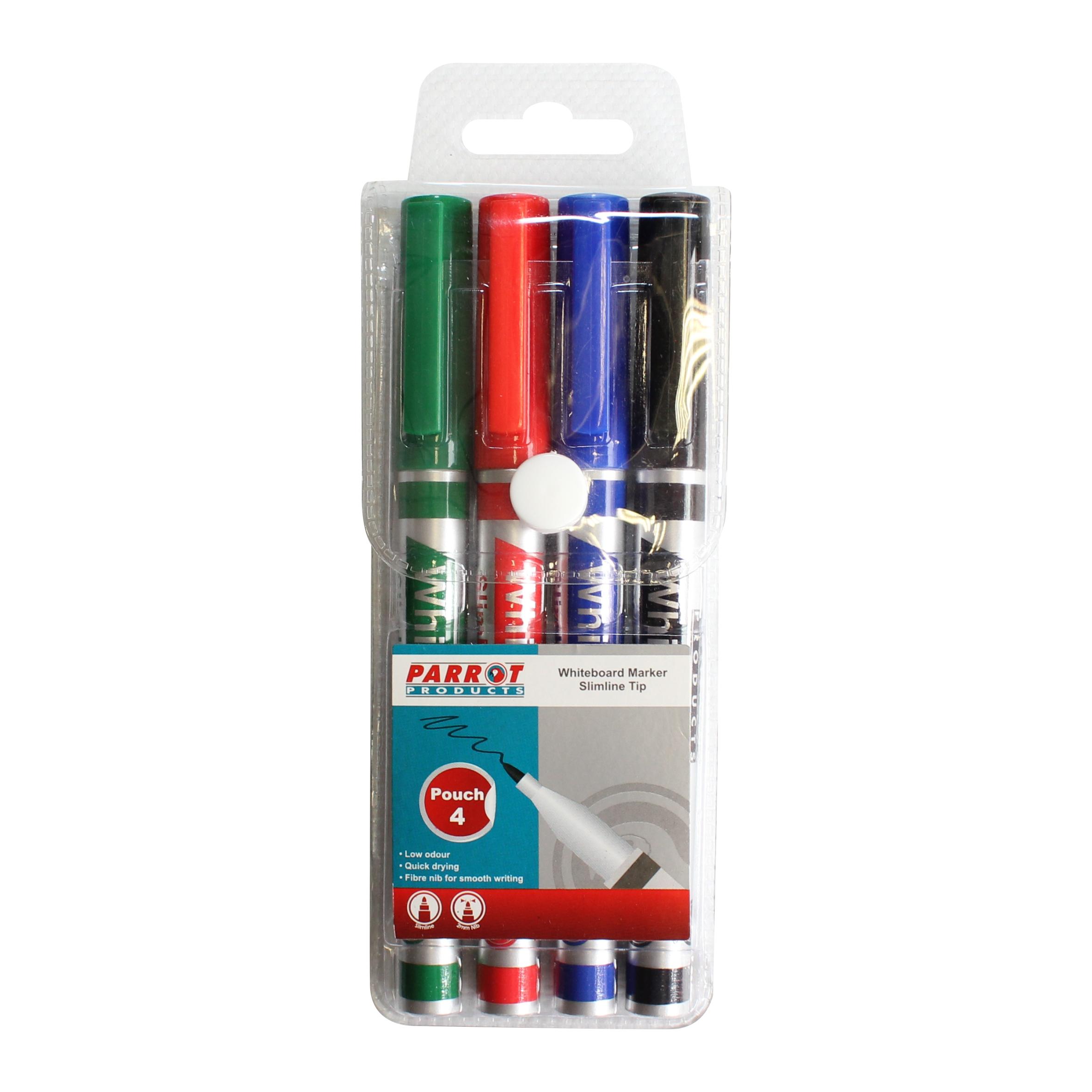 Whiteboard Marker (Slimline Tip - Pouch 4)