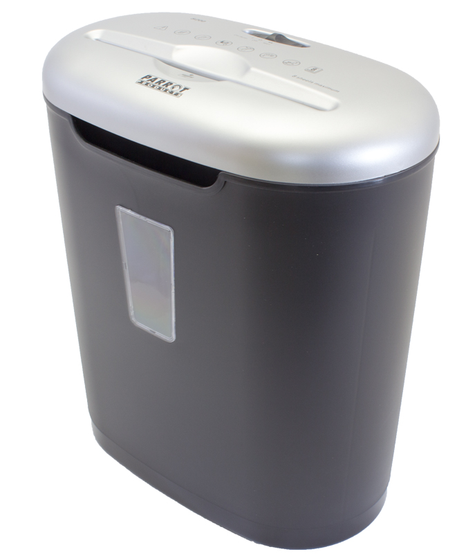 Paper Shredder (8 Sheets - 3.9*39mm - Cross Cut - Medium Security)